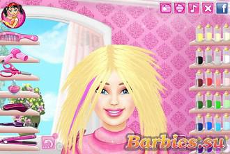 Игра Барби: причёски для девочек- играть онлайн бесплатно