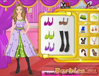 Игры для девочек барби одевалки