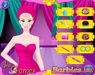 Игры для девочек барби салон красоты